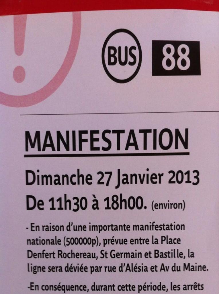 Mariage pour tous : Le nombre de manifestants du 27.01.2013 est déjà connu dans actu bbdpm7hcuaawgc4-e1359120150201