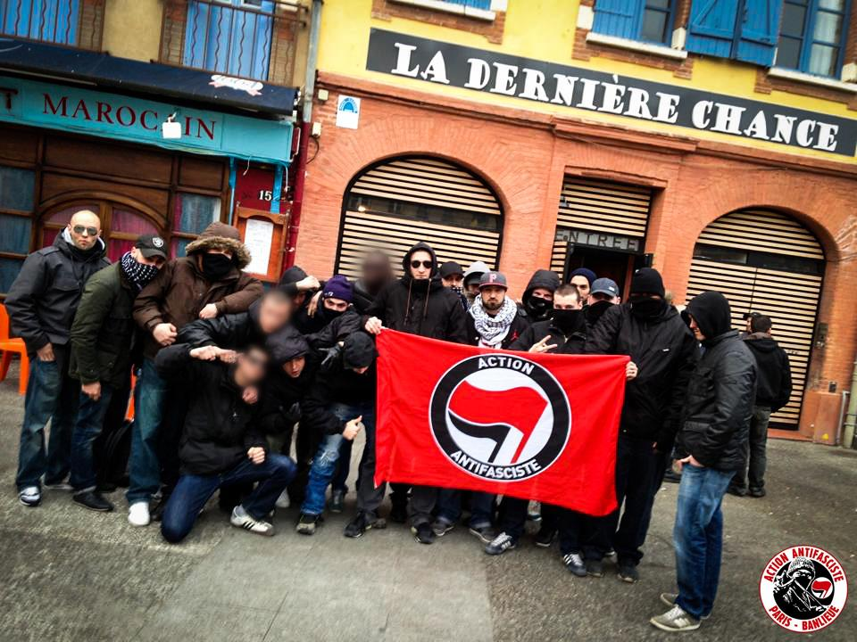 action antifasciste paris banlieue a envoy cl ment m ric au casse pipe la quenelle. Black Bedroom Furniture Sets. Home Design Ideas