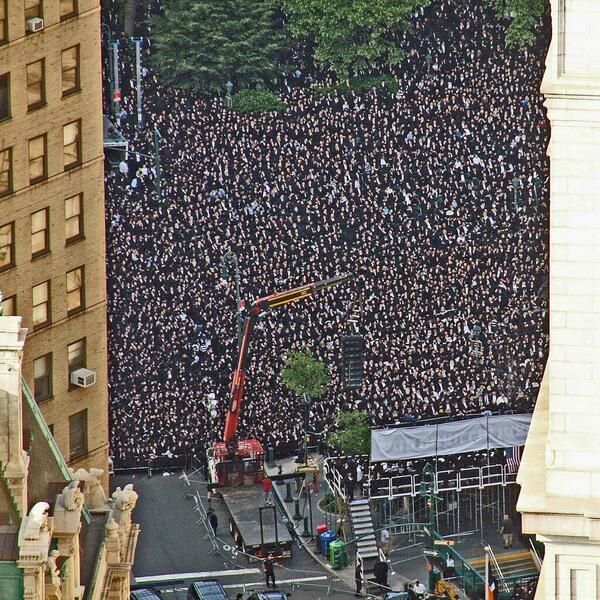 100 000 Juifs rassemblés pour protester contre le nouveau projet de loi israélien dans actu overviewfedplaza