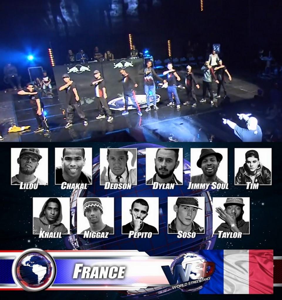 Quenelle collective sur scène par l'équipe de France au Championnat du Monde de Hip-Hop   dans actu captures-decran1